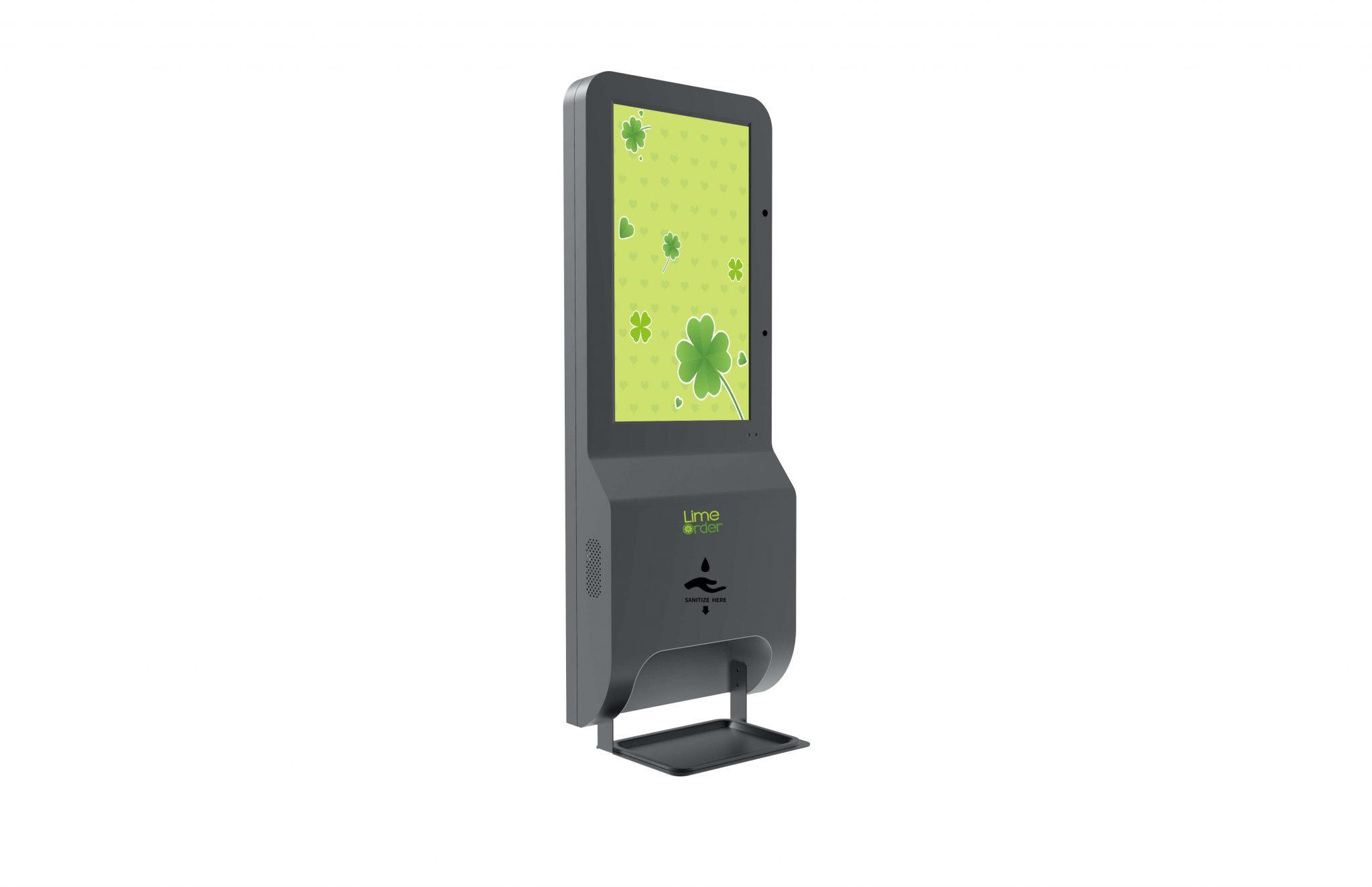 LimeOrder Temperature Sanitizer Kiosk 21 inch2
