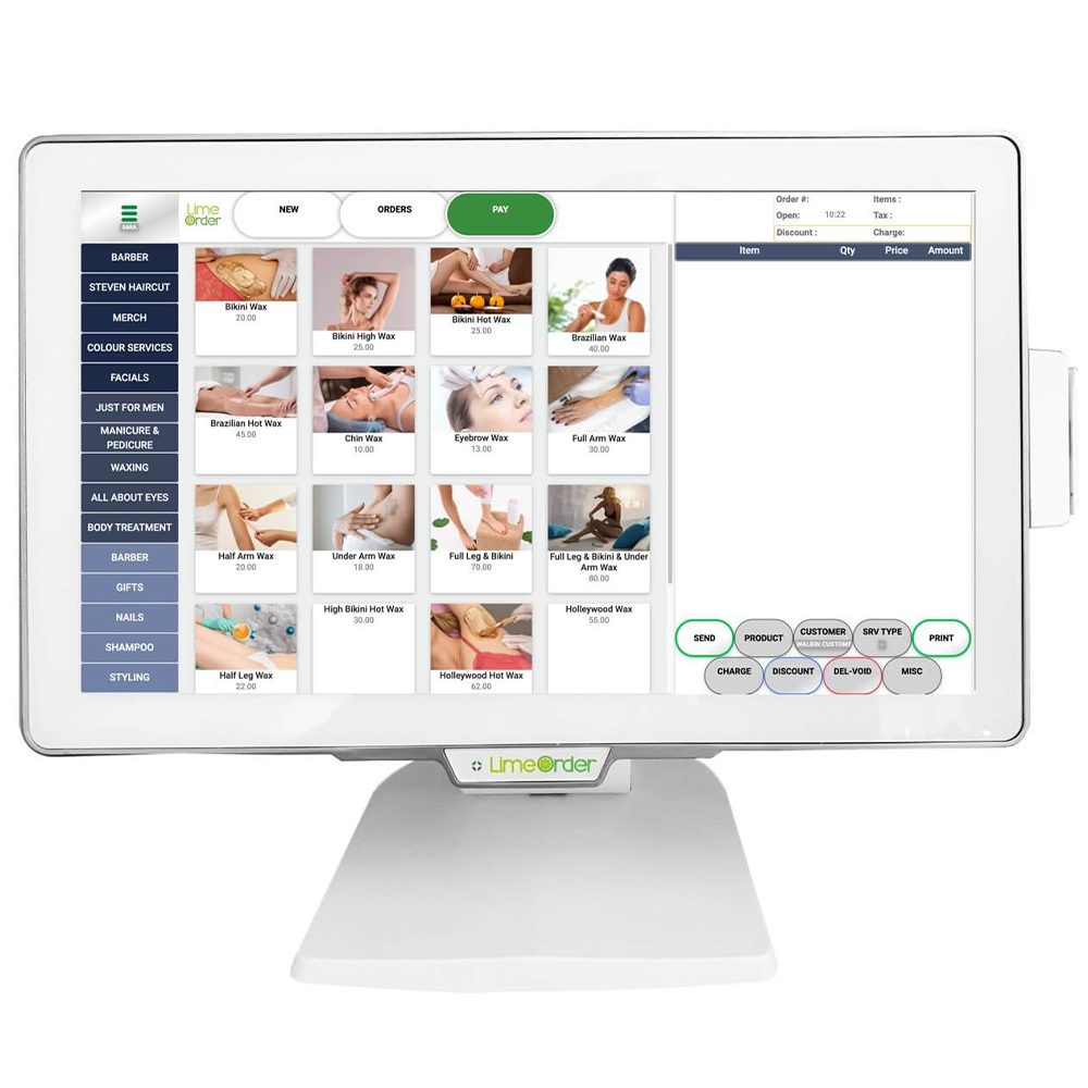 limeorder pos system device