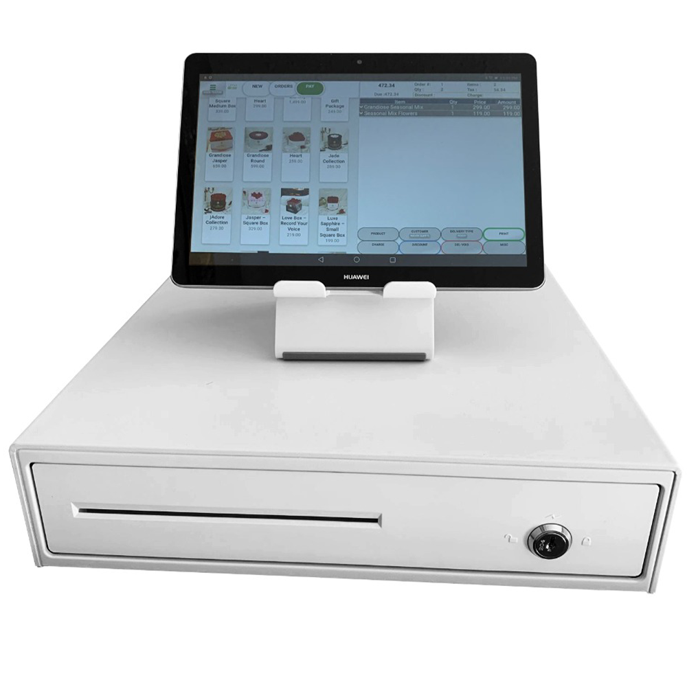 limeorder tablet pos system and cash drawer